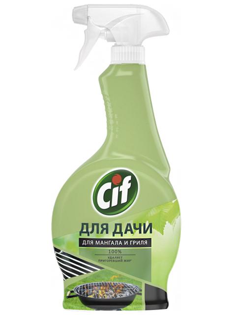 CIF СЧС Спрей чистящий Для дачи. Для мангала и гриля, 500 мл
