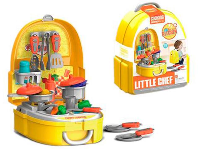"""Игровой набор """"Кухня"""" 25 предметов, в пластиковом рюкзаке"""