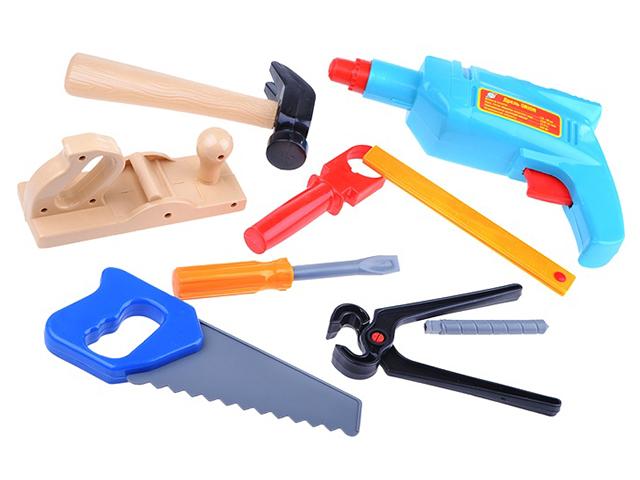 """Игровой набор инструментов """"Маленький столяр"""" 8 предметов"""