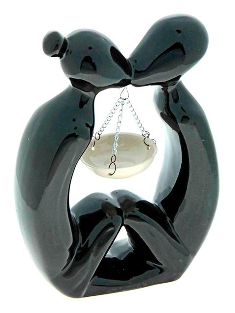 Аромалампа Влюбленные (черная)