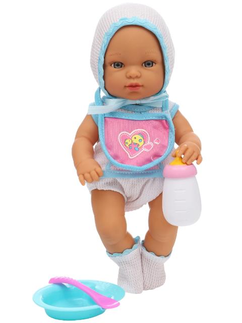 """Кукла S+S Toys """"Пупс"""" 32см, интерактивная, с аксессуарами, в картонной упаковке"""
