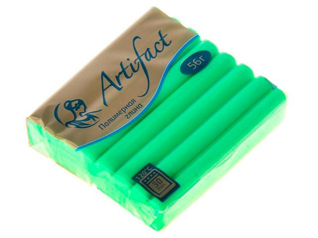 "Пластика ""Артефакт"" флюоресцентный зеленый, 56гр."