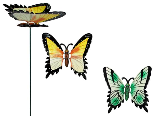 Бабочка-декор садовый 20см.