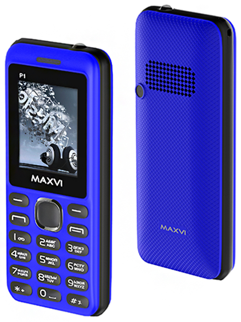 Мобильный телефон Maxvi Р1 Blue-black