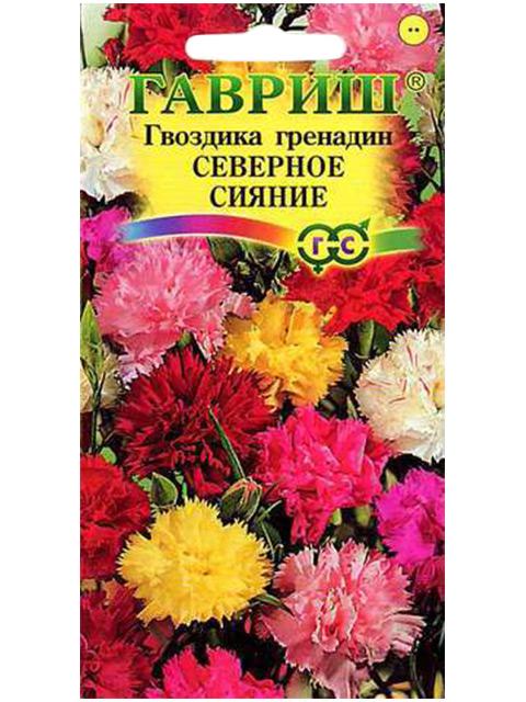 Гвоздика садовая Северное сияние*, смесь, 0,1 г R