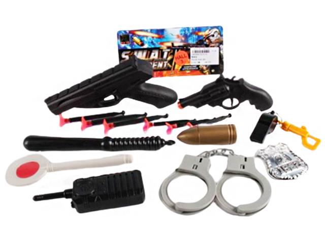 """Набор полицейского """"Амуниция полицейского-3"""", в пакете"""