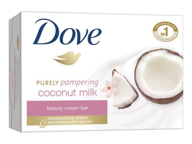 """Крем-мыло Dove """"Кокосовое молочко и лепестки жасмина"""" 135г"""