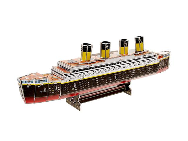 "Игрушка-конструктор ""Титаник"" пазл 3D"