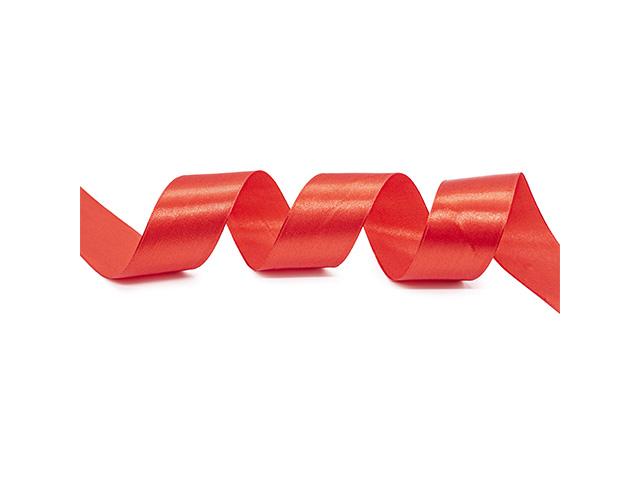 Лента атласная, декоративная 3,8смх22,86м №026 красный (цена за 1м)