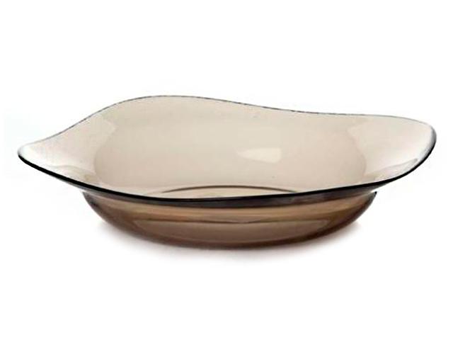 """Тарелка столовая """"Pasabahce. Bronze"""" 21.5см, глубокая"""