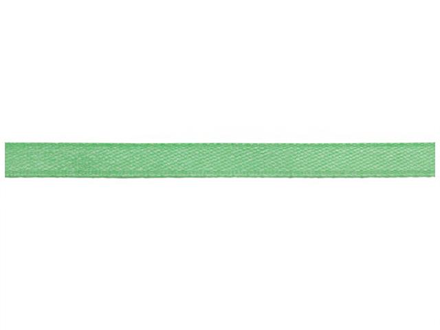 Лента атласная, декоративная 0,6х32,9м №8069/3028 светло-бирюзовый (цена за 1м)