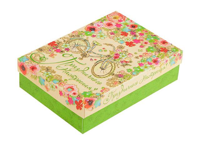 """Коробка подарочная складная """"Праздничного настроения"""" 21х15х5,7см"""