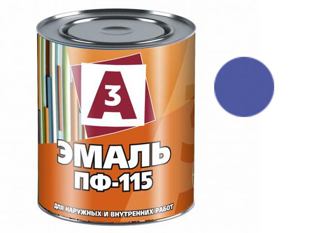 """Эмаль ПФ-115 """"А3"""" 1,9кг, синий"""