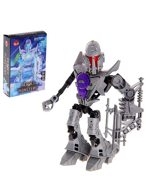 "Конструктор-робот ""Heroes&Monsters. Magnito"" SL-4033 16 деталей"