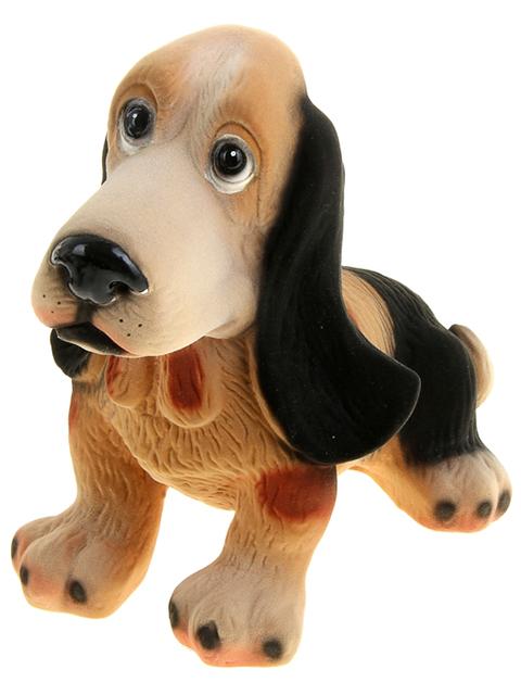 "Копилка - собака ""Бассет"" флок"
