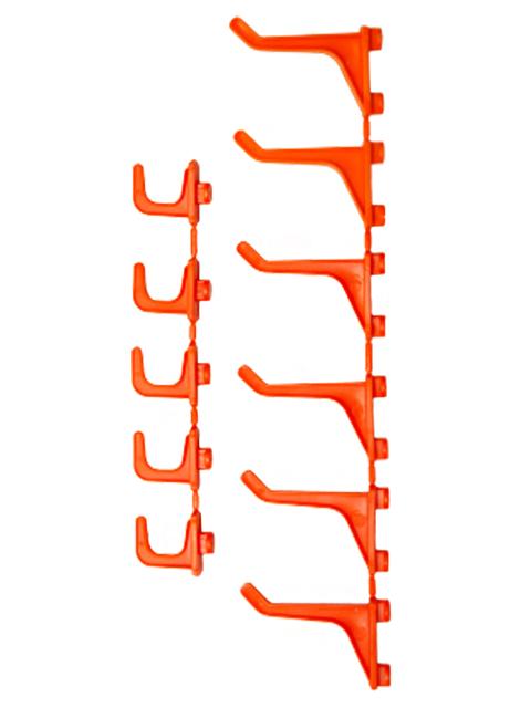 "Набор крючков ""Blocker Expert"" (5 мал. + 6 бол.) оранжевый"