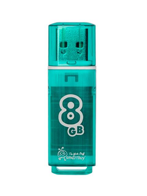 Флэш-диск Smart Buy USB Flash 8GB Glossy зеленый