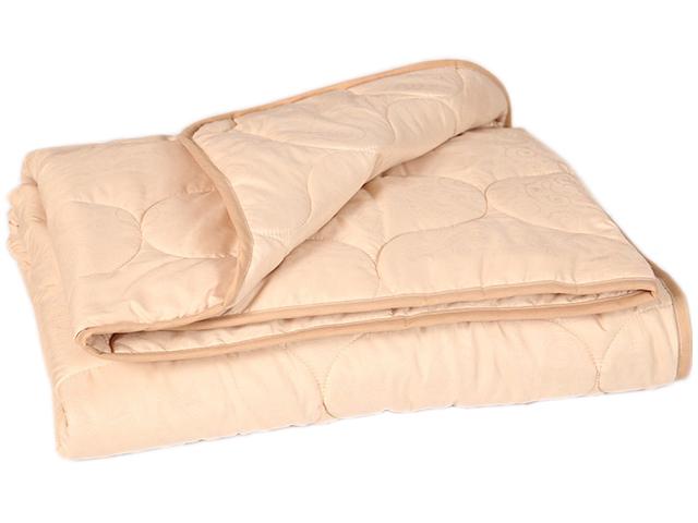 """Одеяло """"Овечья шерсть"""" стеганое облегч. микрофибра 1,5 (140*205) спальный (плотность 150г/м2)"""