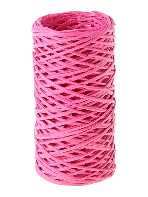 Шпагат Сима-ленд 0,2см х 30м, ярко-розовый