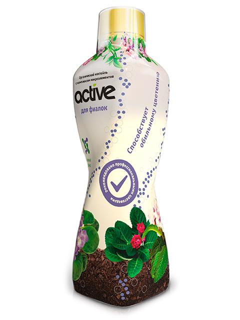 ACTIVE Для Фиалок 0,5л органический коктейль с комплексом микроэлементов