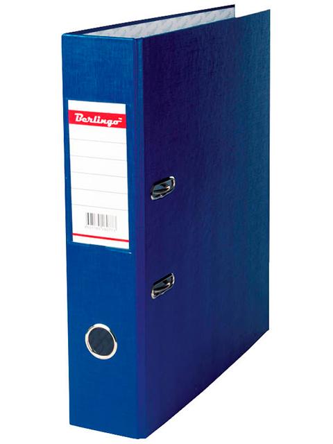 Регистратор А4 Berlingo 70 мм полипропиленовый, синий