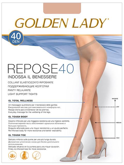 """Колготки женские Golden Lady """"Repose 40"""" Visone XL"""