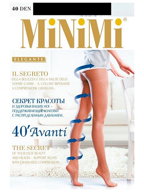 "Колготки женские MiNiMi ""Avanti 40"" Nero 5-XL"