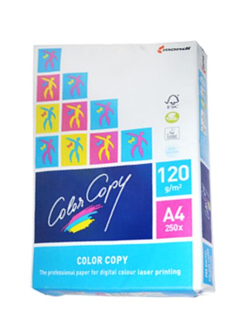 Бумага для цветной лазерной печати Color Copy (А4, 120 г/кв.м, белизна 161% CIE, 250 листов)