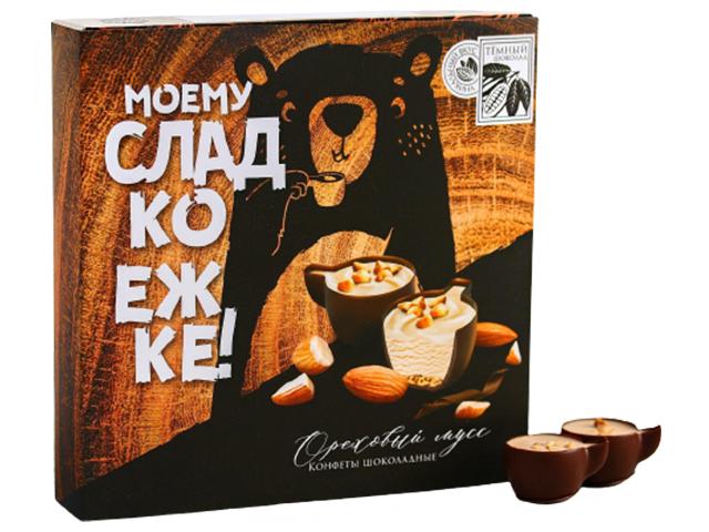 """Набор шоколадных конфет Фабрика счастья """"Моему сладкоежке"""" 104 г"""