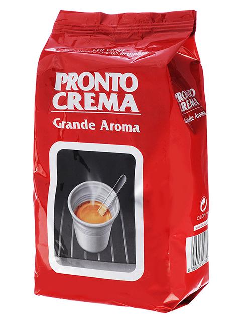 """Кофе в зернах LAVAZZA """"Pronto Crema"""" 1кг, вакуумная упаковка"""