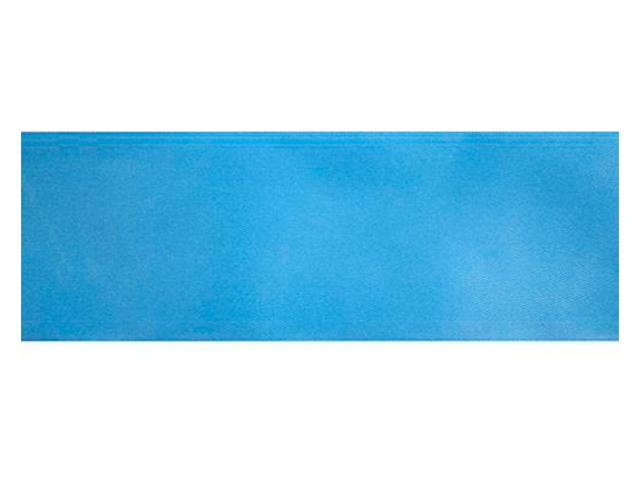 Лента атласная, декоративная 0,6х32,9м №8105 голубой (цена за 1м)