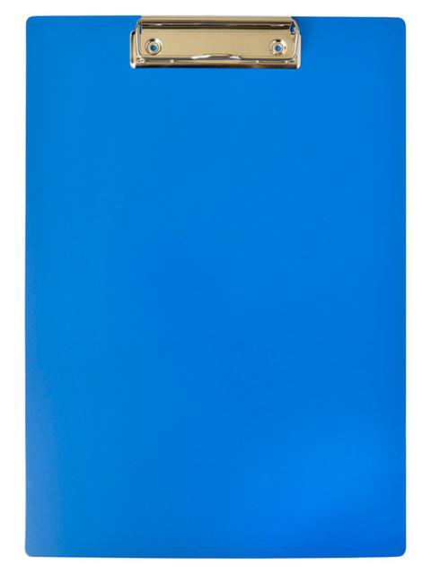 Планшет с зажимом А4 OfficeSpace пластик, синий