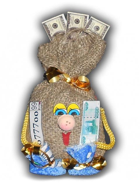 Автооберег денежный мешок АО-1