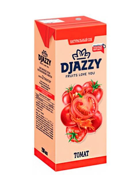"""Сок """"DJAZZY"""" 0,2 л томат"""