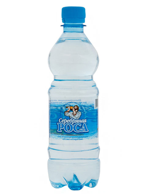 Вода питьевая Серебряная роса 0,5 л, негазированная пл/бут.