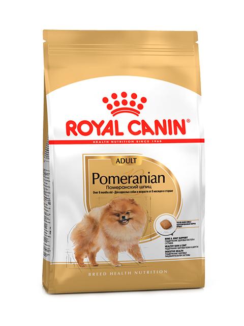 Корм РК Померанский шпиц 0,5кг (для взрослых собак в возрасте от 8 месяцев и старше)