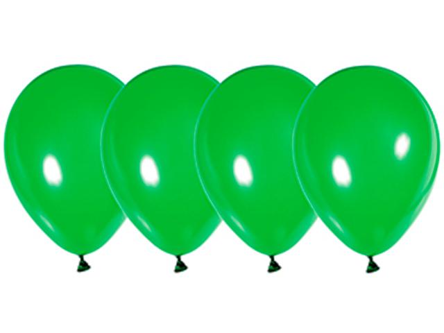 """Шар 12"""" стандарт люкс зеленый 50 штук в упаковке"""