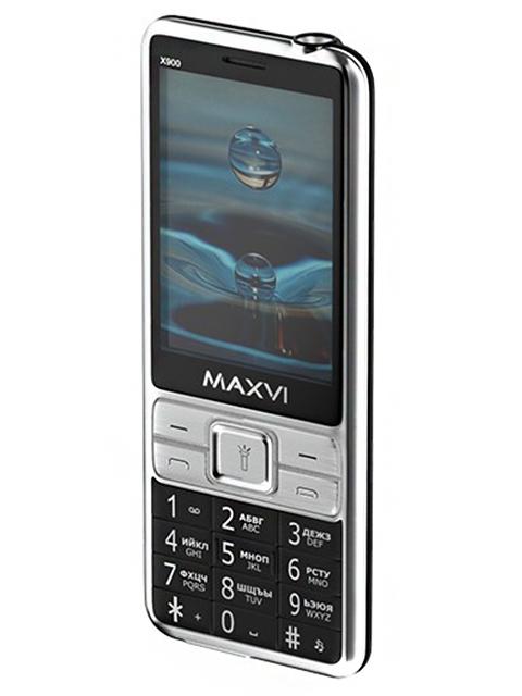 Мобильный телефон Maxvi X900 Black