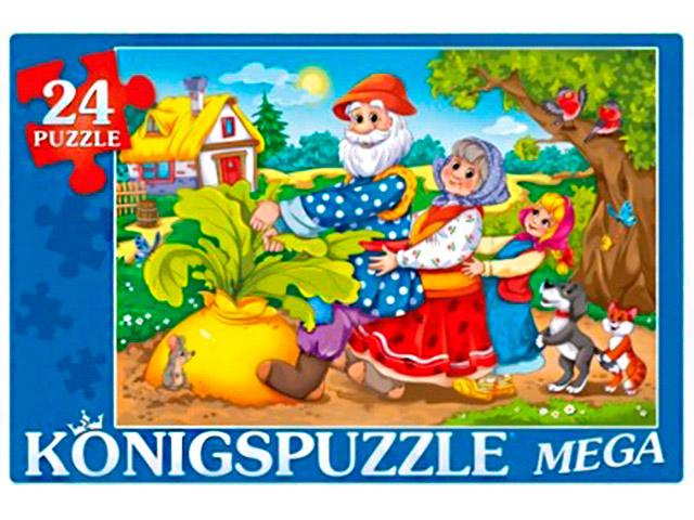 "Пазлы 24 элемента мега 480х320 Konigspuzzle ""Репка"""