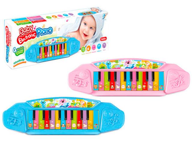 """Музыкальный инструмент Пианино """"Baby"""" 27см. на батарейках"""