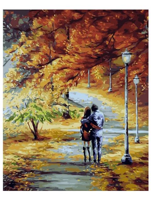 """Картина по номерам Colibri """"Гуляющая пара"""" 40*50см"""