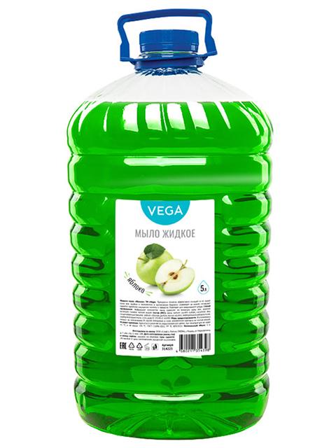 """Мыло жидкое Vega """"Яблоко"""", 5л, ПЭТ"""