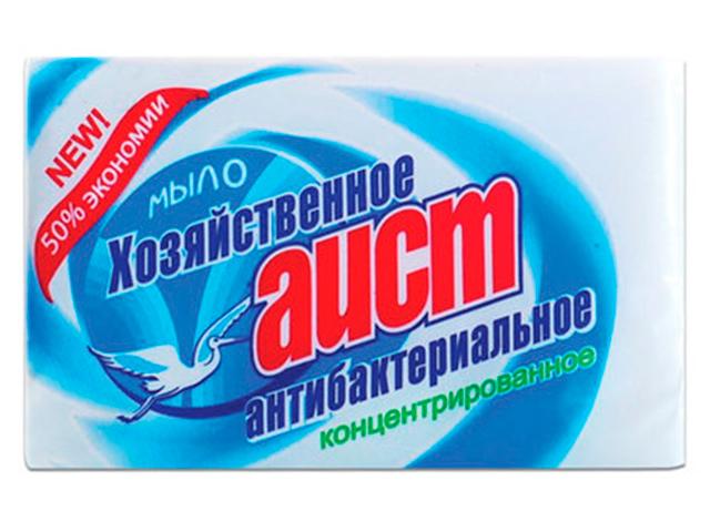 Мыло хозяйственные Аист антибактериальное, 200 г в упаковке