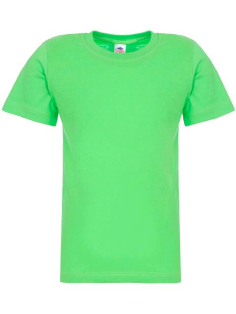 Футболка детская, однотонная, зеленая, размер 2-6 лет