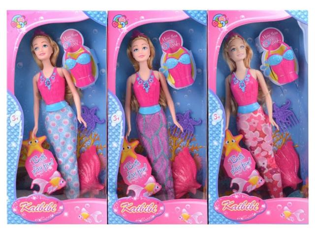 Кукла Русалочка и друзья, 28см, в коробке