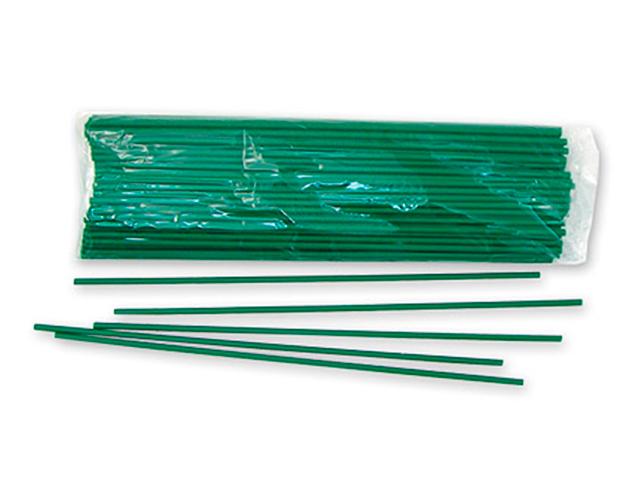 Палочки для шариков Зеленые 100 штук в упак.