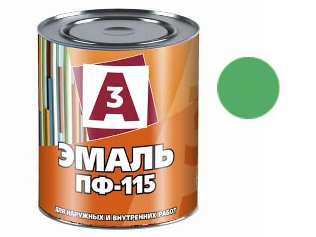 """Эмаль ПФ-115 """"А3"""" 0,9кг, зелёный"""