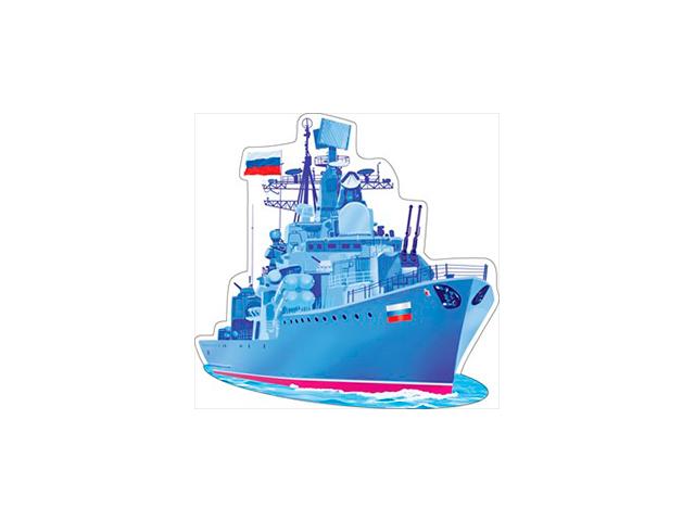 """Украшение """"Корабль"""" на скотче (цена за 1шт.) [88.013]"""