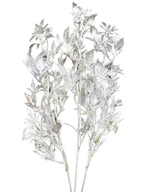 Куст декоративный, серебро (цена за 1шт)