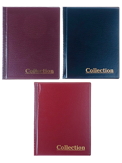 "Альбом для монет ""Collection"" 215х173мм, 250 монет, ПВХ"